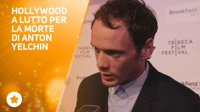 Hollywood ricorda l'attore di Star Trek Anton Yelchin