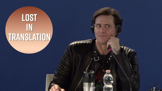 Jim Carrey mattatore… di conferenze stampa!