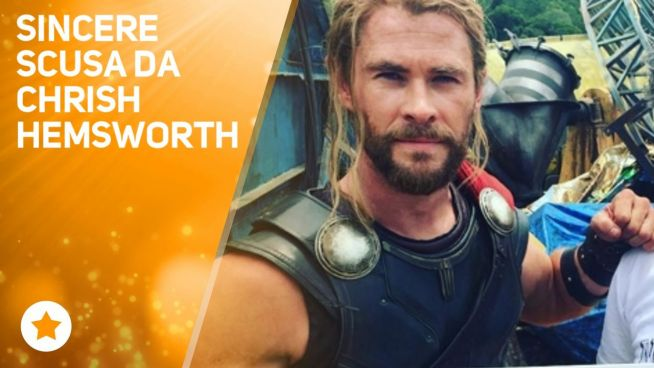 Chris Hemsworth: 'Sono stato superficiale'