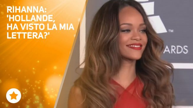 Rihanna scende in politica e scrive a Hollande