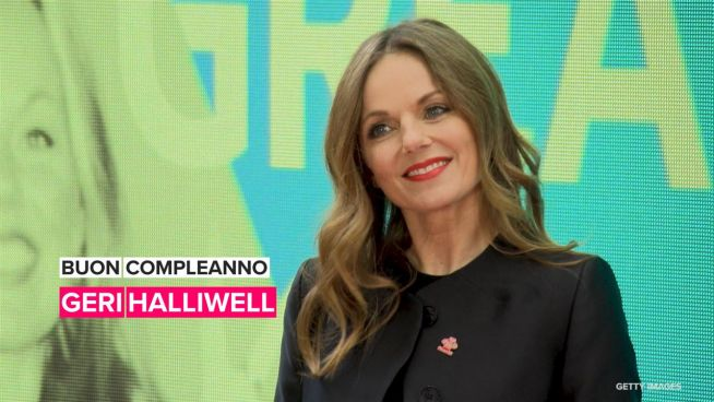 Buon compleanno, Geri Halliwell