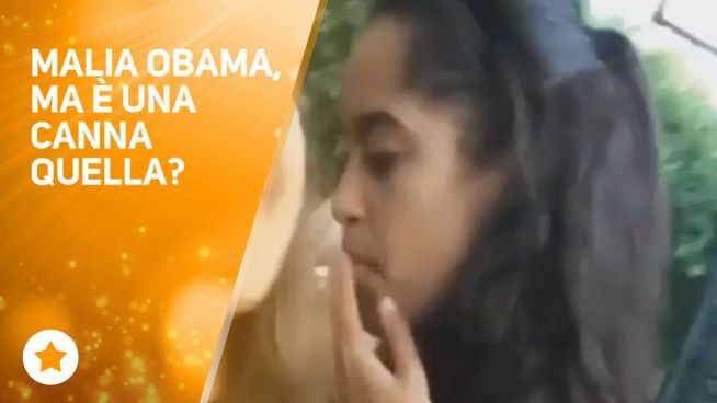 Malia Obama si fa una canna… E allora?