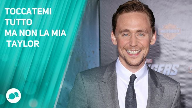Tom Hiddleston, risposte enigmatiche su Taylor