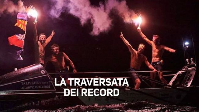 La traversata record che dona € 280.000 in beneficenza